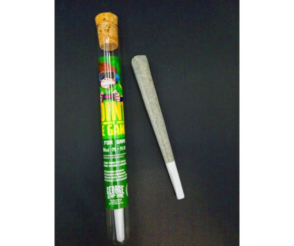 GHZ Monkey GEORGE JOINT, CLEVER MARVIN EDITION joint konopny CBD+CBG 1G REAL